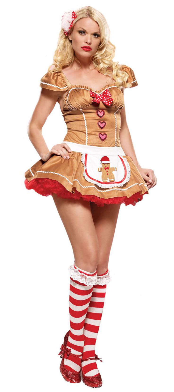Christmas dress teen - Sexy 0costumes For Teen Girls Sexy Gingerbread Girl Christmas Costume