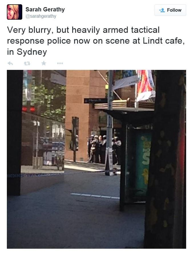 Sydney siege in pictures