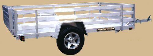 Aluminum Utility Trailer #HooperTrailerSales #Hooper #TrailerSales #Trailers #AluminumTrailers #Aluminum #Monticello #GA #Georgia