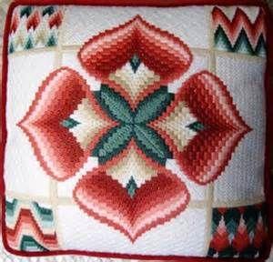 bargello, Bargello Needlepoint, embroideries, needlepoint, needlepoint ...