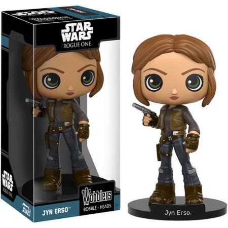 Funko Wacky Wobbler: Star Wars - Rogue One - Jyn Erso, Multicolor