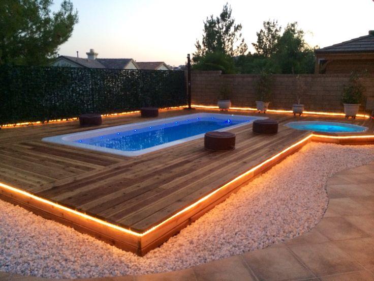 Swim spa and jacuzzi backyard zen pools for backyard for Pool zen spa