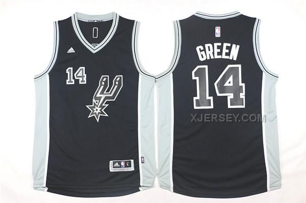 http://www.xjersey.com/spurs-14-danny-green-black-201516-swingman-jersey.html SPURS 14 DANNY GREEN BLACK 2015-16 SWINGMAN JERSEY Only $34.00 , Free Shipping!