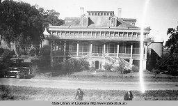 San Francisco plantation home in Reserve Louisiana circa 1930s | Louisiana Digital Library