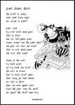 Leesblad Piet doet dom