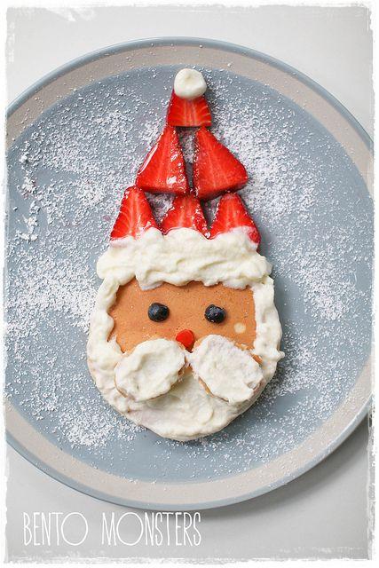 La navidad está casi casi aquí... En el desayuno, desde luego :D