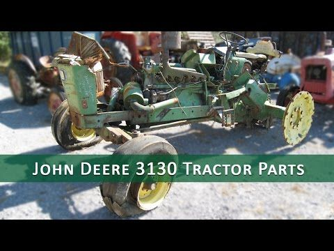This tractor has been dismantled for John Deere 3130 tractor parts.  #johndeere #tractor #parts
