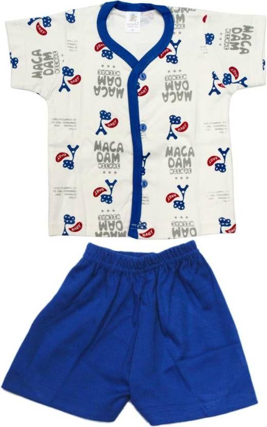 Kid's Care #Boys #Casual #T-shirt Pant  (#Blue)