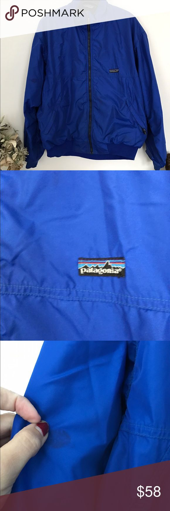 Vintage Patagonia ski jacket L GUC Great condition other then a small stain on inside of right arm. Smoke and pet free home. Bundle discount 20% Patagonia Jackets & Coats