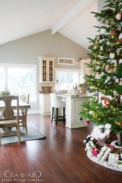 christmas house tour: northwest coastal edition - sherwin williams sensible hue