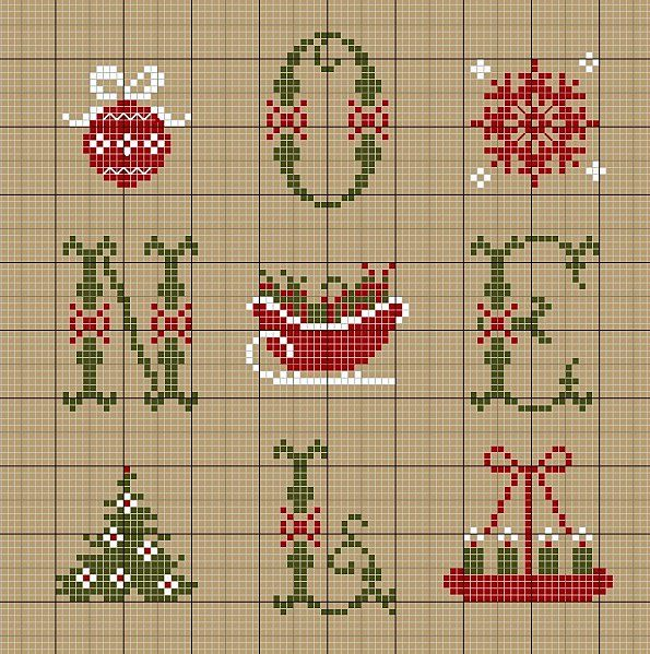 ♥ ♥ cross stitch Archives: CHRISTMAS NOEL CROSS STITCH PATTERNS with Christmas themes