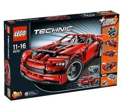 New Lego Technic Supercar # 8070 In Sealed Box Discontinued...