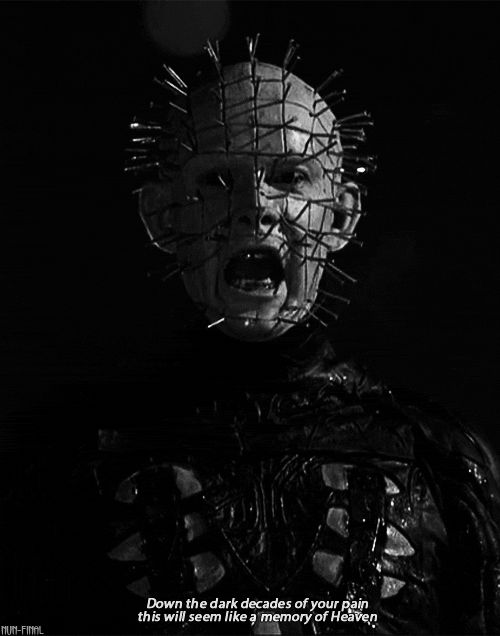 Pinhead Quotes : pinhead, quotes, Pinhead, Retro, Horror,, Horror, Movie, Movies, Scariest