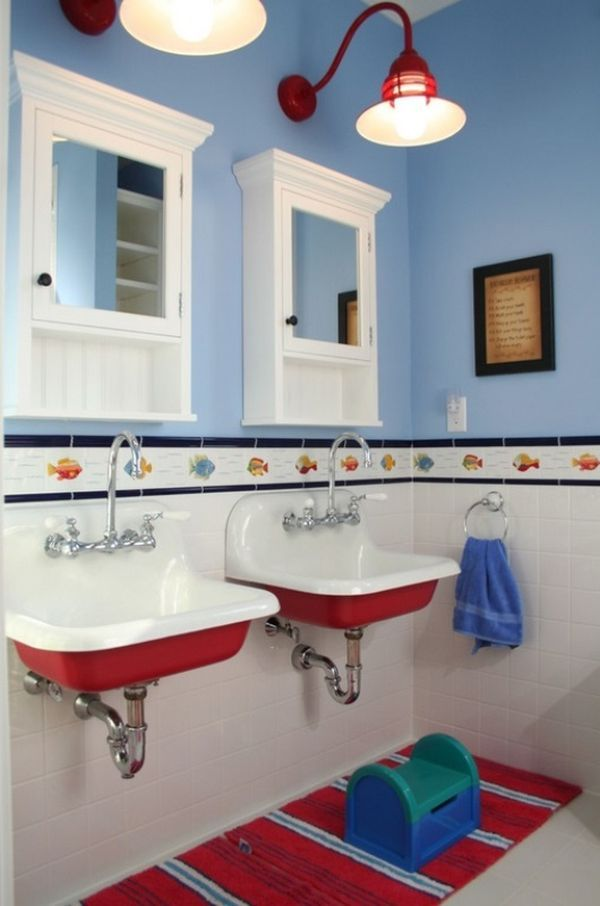 30 Playful And Colorful Kids' Bathroom Design Ideas
