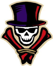 I actually love this logo - the New Orleans VooDoo Arena Football team..