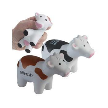 Stress Cow Toy -  Branded cow stress toys are a quirky way to promote your brand