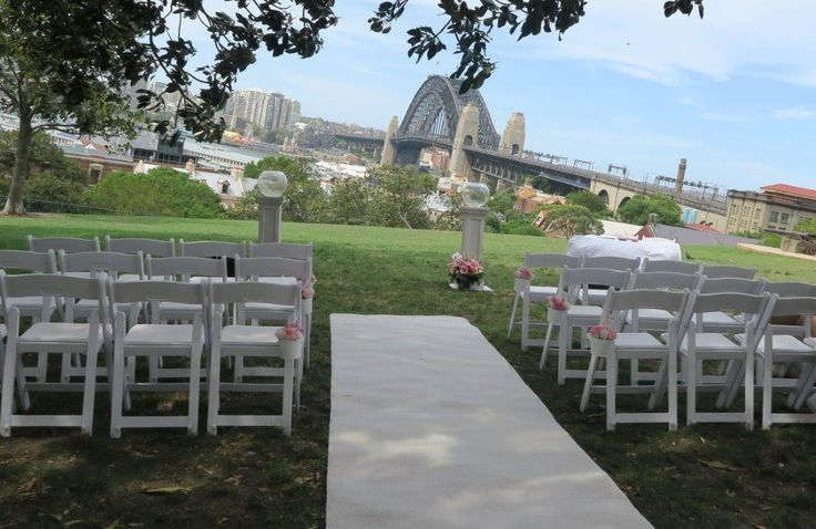 Wedding location - Observatory Hill Sydney