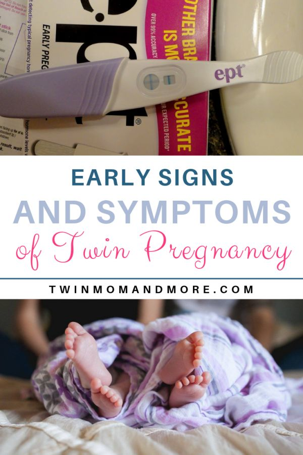 Early Signs and Symptoms of a Double Pregnancy: What Time can You Say You Are?   – Best of Twin Mom and More Blog