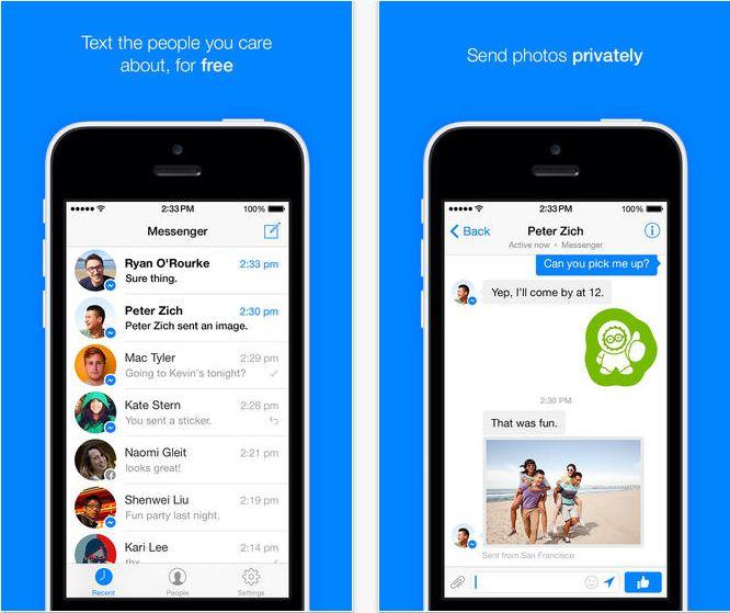 Facebook Messenger update aduce o interfata pentru iOS 7 si alte noutati interesante