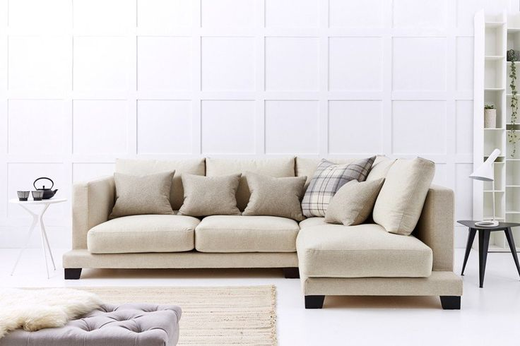 love your home Grace Corner Sofa 2.5 Seater with Chaise Right Hand Facing, similar to living etc sofa in bakery house