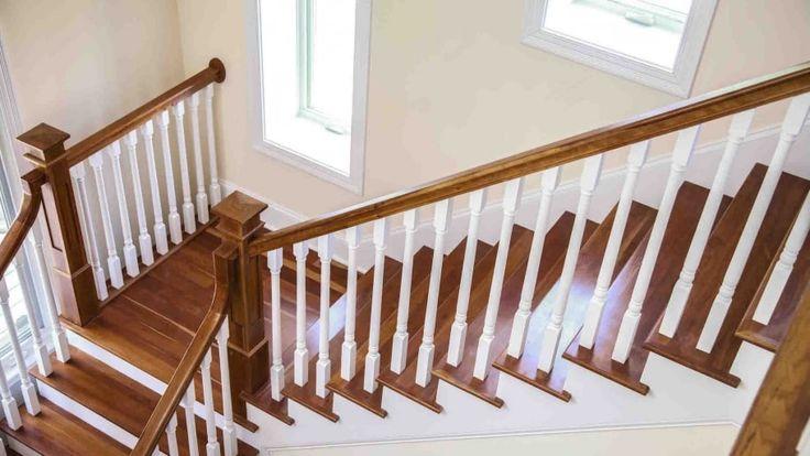 Best How To Refinish Indoor Stair Railings Stairway Railing 640 x 480