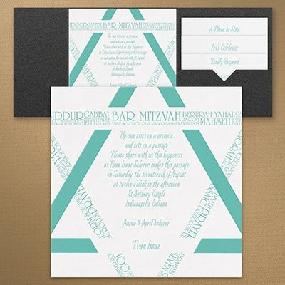64 best ♥u2022BAR MITZVAH INVITES images on Pinterest Bat mitzvah - how to make invitations on word