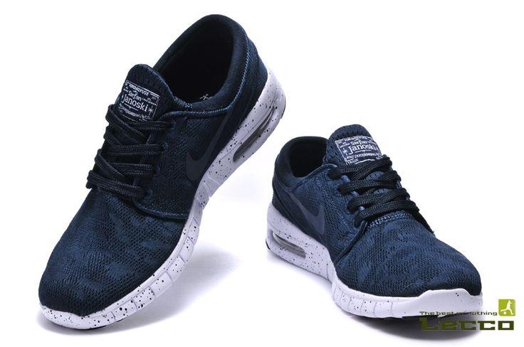 Мужские кроссовки Nike SB Stefan Janoski Max Blue/White