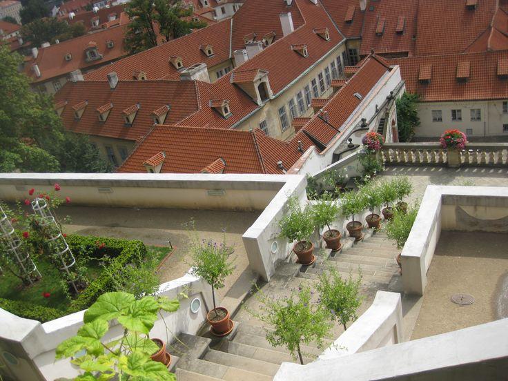 Beautyful garden in Prague - Ledeburská zahrada