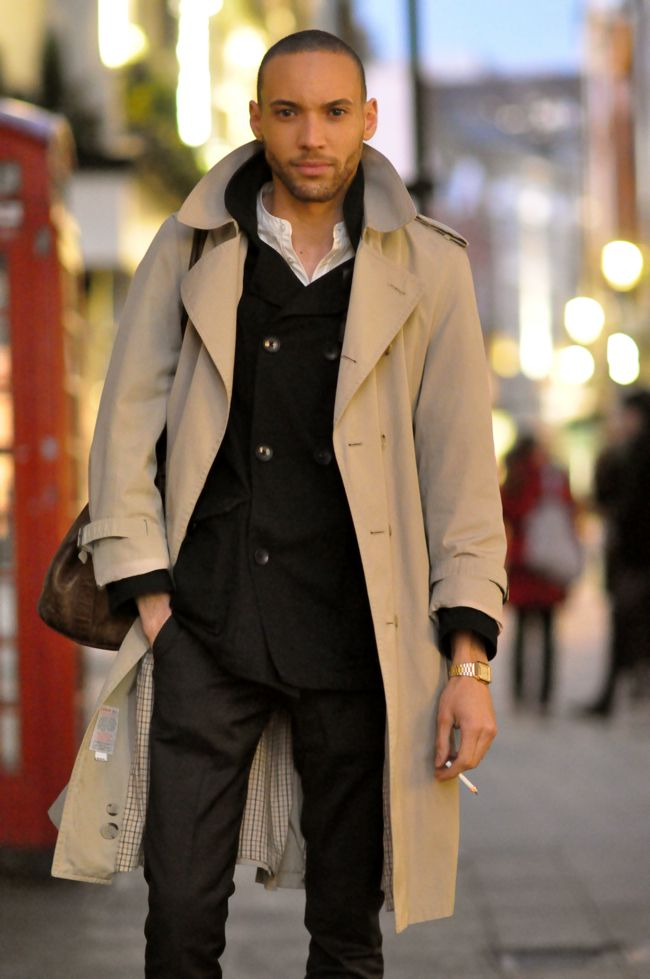 Men...a trench is the best fashion investment you'll ever ...