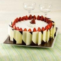 CAKE ULTAH STROBERI | Sajian Sedap http://bit.ly/L4BBQN