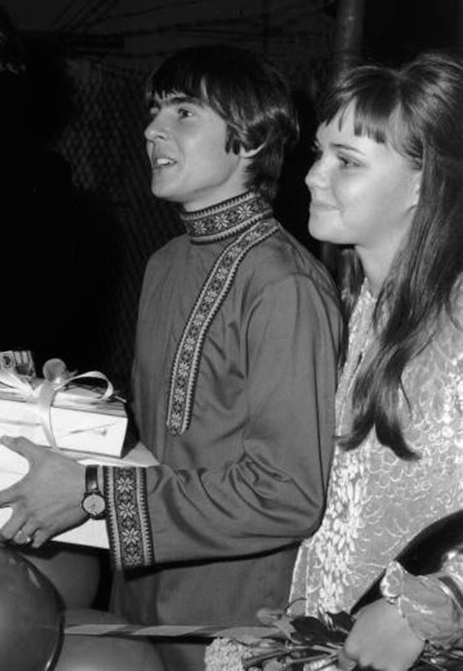 Davy Jones & Sally Fields