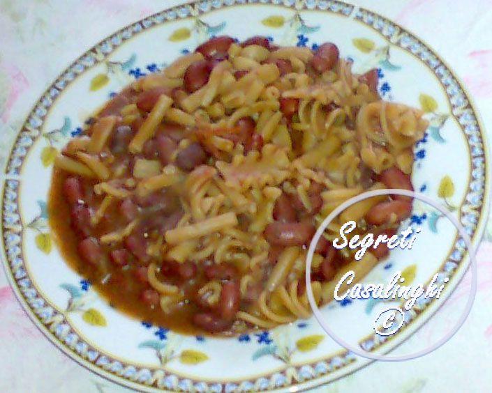 pasta fagioli freschi borlotti,pasta e fagioli freschi borlotti,ricetta pasta e fagioli freschi,fagioli con la pasta ricetta,ricette primi piatti,