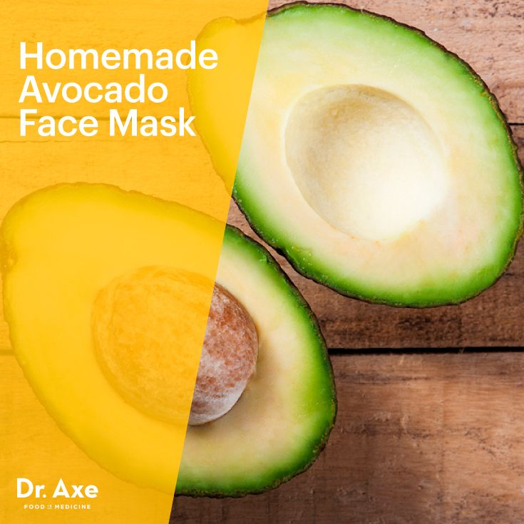 Homemade Avocado Face Mask - Dr.Axe