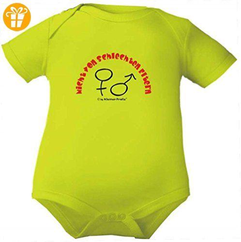 Baby Body 1/4-Arm (Fb. apfelgruen) (Gr.86) Nicht von schlechten Eltern NEU (*Partner-Link)
