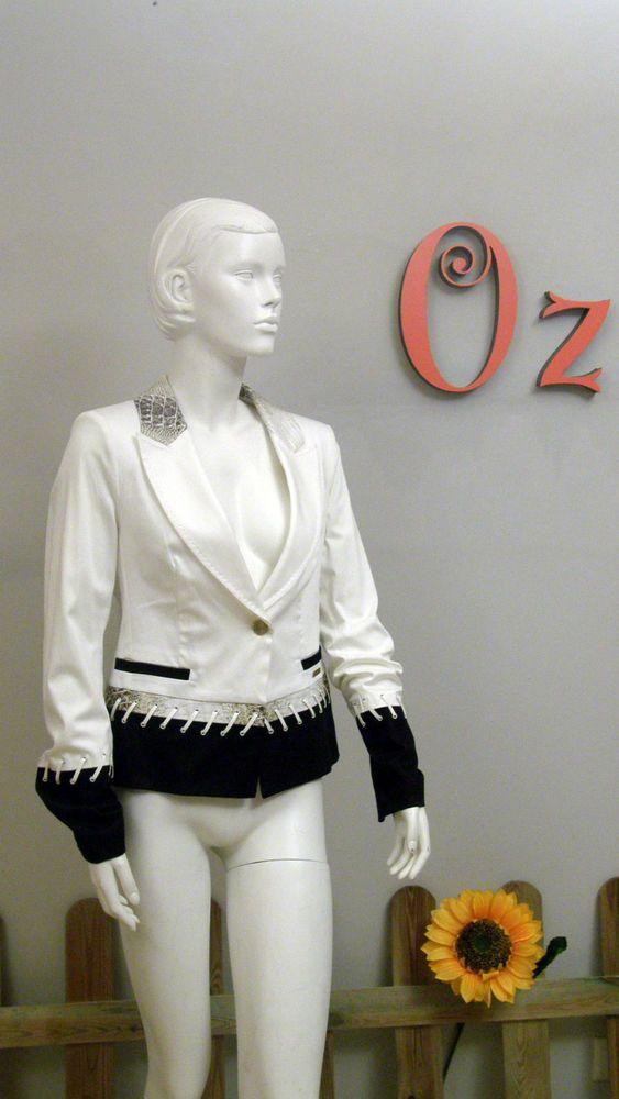 Chaqueta blanca mujer de Cappopera -Nuevo y Original-  Estamos de Rebajas comprueba los precios finales en www.ozoutlet.es/ebay