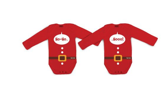 Ho-Ho-Ho Santa Twins by myTwinsCollection on Etsy
