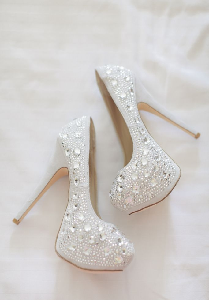 Bling Heels Shoes Designs For Wedding 2015 With Price Range