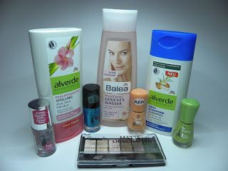Alles rund um Kosmetik: DM Haul