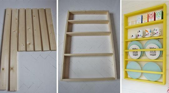 Build your own plate rack!   Så bygger du din egen tallrikshylla   Bygg & Fixa   Inredning, tips om möbler, trädgård, heminredning, bygg   Expressen