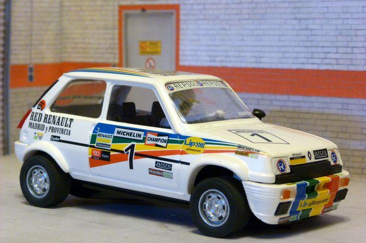 Scalextric Altaya CS-9. Renault 5 Copa. Circuito del Jarama 1983. Carlos Sainz. #slotcar