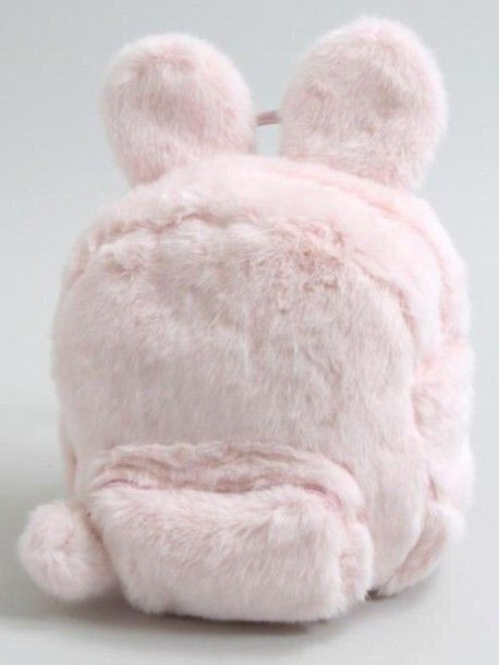 bag pink fur cute kawaii pastel backpack bunny all pink wishlist