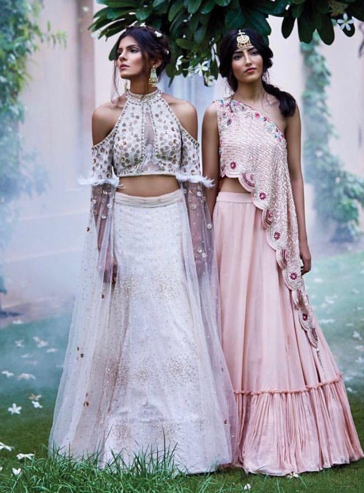 8e4c8294d7b7 Monika Nidhii Instagram Bridal Lehenga