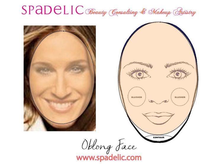 Makeup tips for long face makeup vidalondon highlight contour for oblong face spadelic makeup artistry oblong contour anatomy and makeup makeup faces and ccuart Gallery