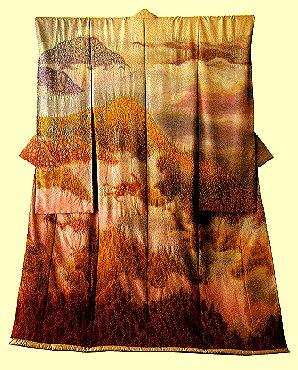 Hin:   Nostalgia    Civilization.ca - Landscape Kimonos of Itchiku Kubota