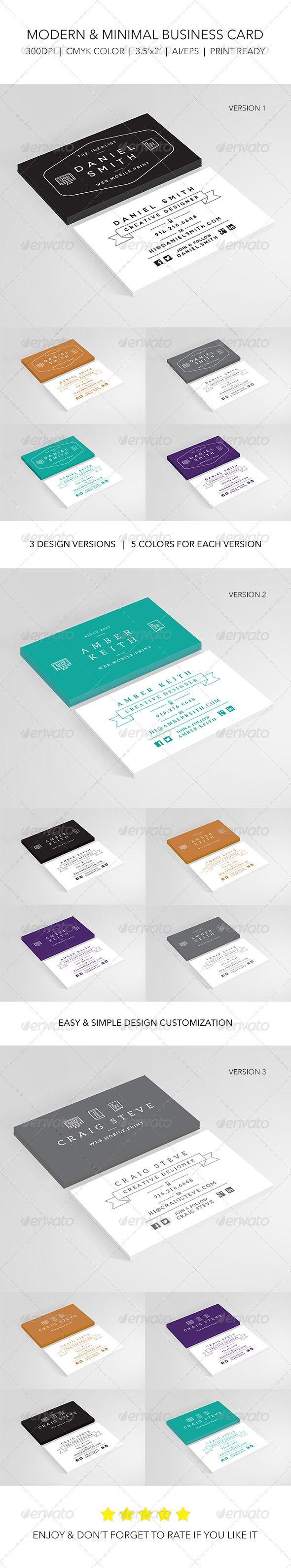 41 best business card inspiration images on pinterest visit creative modern designer business card reheart Choice Image