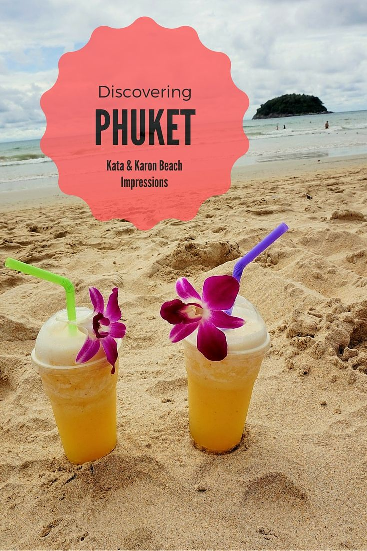 Discovering the island of Phuket! We stayed around the area of Kata and Karon beach and here we presented an insight about these two places.