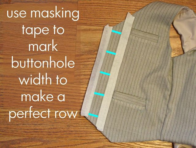 buttonhole sewing tip