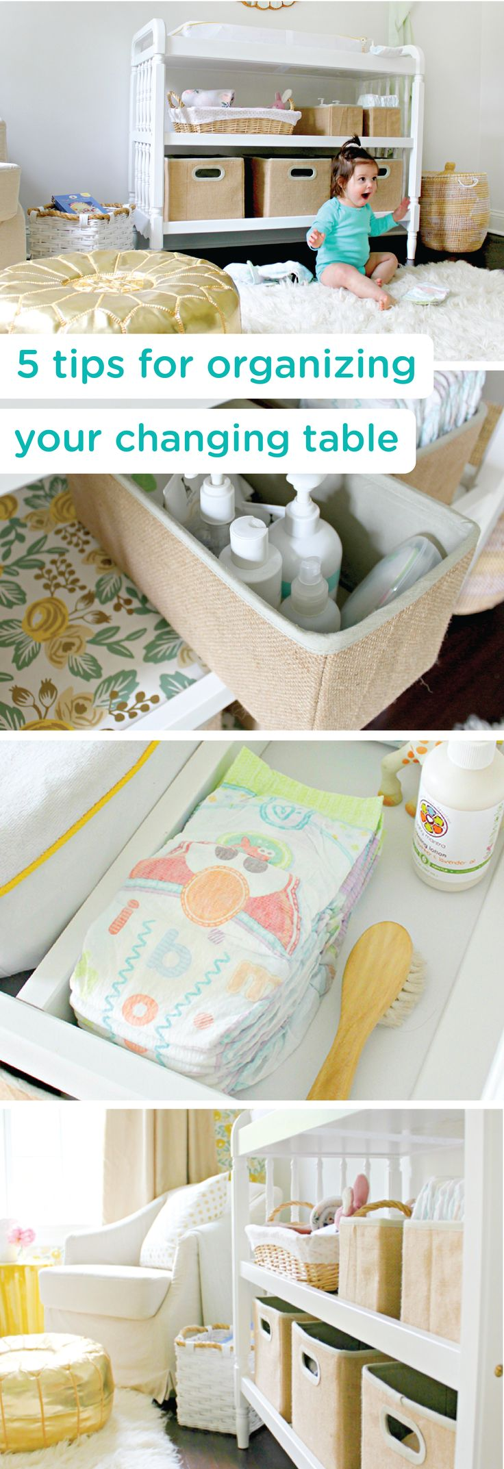 Top tips for making a baby s nursery special - Set Your Changing Table Up For Success