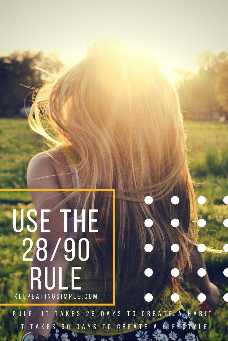 It Takes 28 Days to create a habit. It Takes 90 Days to create a LIFESTYLE .  Take the Challenge.