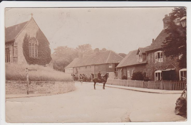 RP LETCOMBE REGIS NEAR WANTAGE POSTED 1906 | eBay